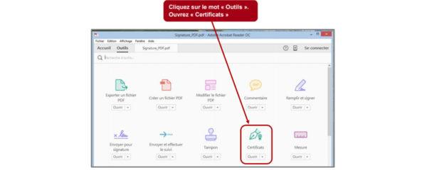 Signature électronique PDF